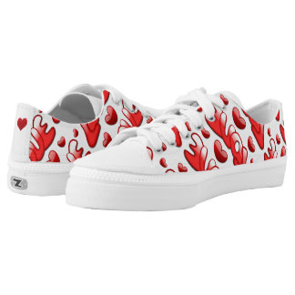 Show the Love Womens Low Top Shoes