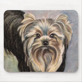 Show Yorkie Abby Mouse Pad