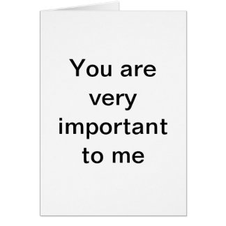Show you care. greeting card