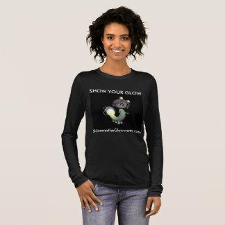 SHOW YOUR GLOW black lg-sleeve Long Sleeve T-Shirt
