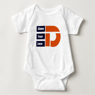 Show your Love for Detroit TM Baby Bodysuit