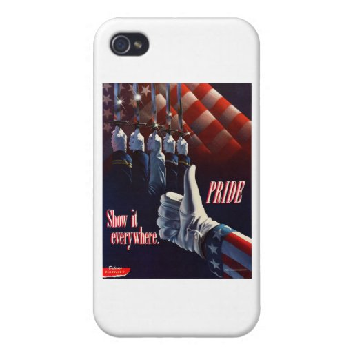 SHOW YOUR PRIDE IN OUR MILITARY CASE FOR iPhone 4
