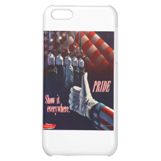 SHOW YOUR PRIDE IN OUR MILITARY iPhone 5C CASE