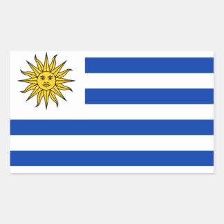 Show your pride in Uruguay! Rectangular Sticker