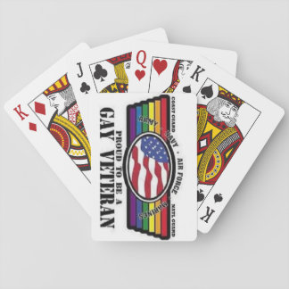 Show Your Service and Pride, play the game! Deck Of Cards