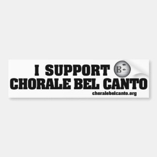 Show your support car bumper sticker