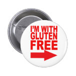 Show your support for your Gluten-Free loved one! Pinback Button