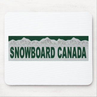 Showboard Canada Mouse Pads