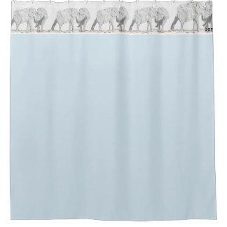 Shower Curtain /Elephants