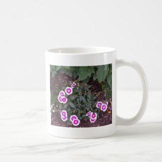 Shower Garland of FLOWERS pink white stripe gifts Mug