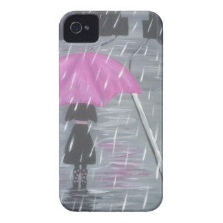 Shower in the City iPhone 4 Cases