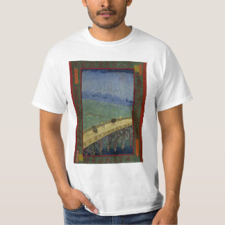 Shower Over Shin Ohashi Bridge Van Goh Shirt