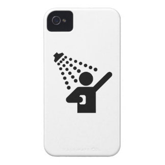Shower Pictogram iPhone 4 Case