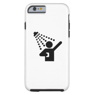 Shower Pictogram iPhone 6 Case Tough iPhone 6 Case