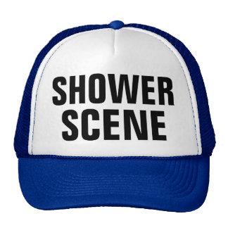 Shower Scene Trucker Hat