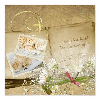 Shower The Bride 13 Cm X 13 Cm Square Invitation Card