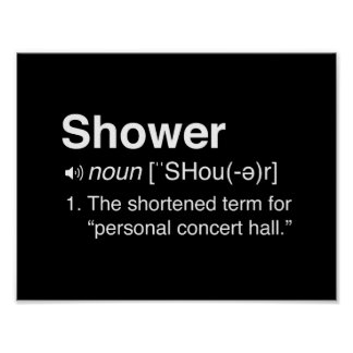 Shower...The Shortened Term Poster