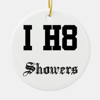 showers christmas ornament