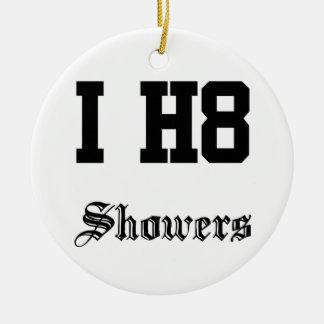 showers round ceramic decoration