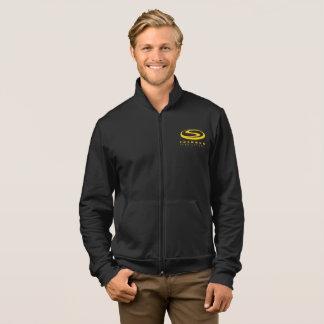 ShowFab Fleece Zip Jogger Jacket