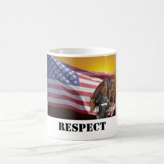 Showing Respect Basic White Mug