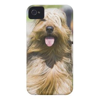 showing tongue, long hair, portrait iPhone 4 case