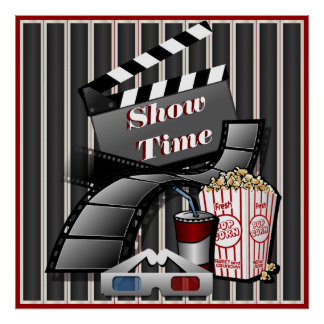 Showtime Cinema Theater Poster