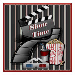 Showtime Cinema Theatre Poster