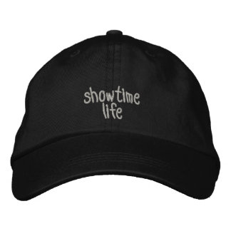 ShowtimeLife hat (dark Colours) Embroidered Hat