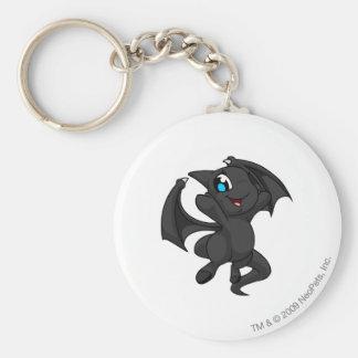 Shoyru Shadow Basic Round Button Key Ring