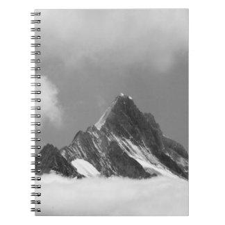 Shreckhorn summit, 3741 m. from Faulhorn, Spiral Notebook