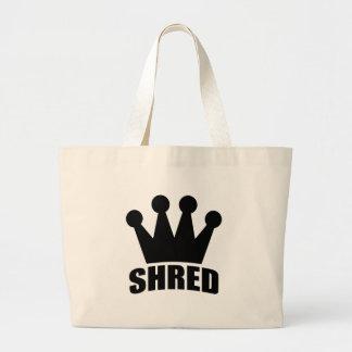 Shred Crown (black) bag