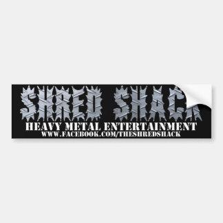 Shred Shack Bumper Sticker