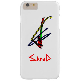 Shred snowboarder multicolor barely there iPhone 6 plus case