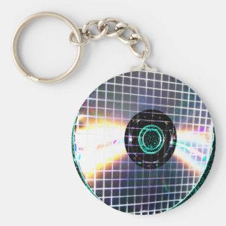 Shredded Disco Galaxy CD Key Ring