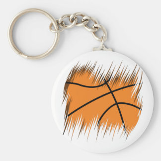 Shredders Basketball Basic Round Button Key Ring