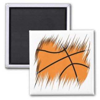 Shredders Basketball Square Magnet