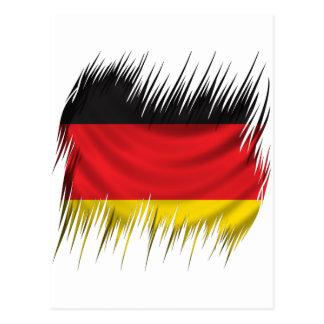 Shredders German Flag Postcard