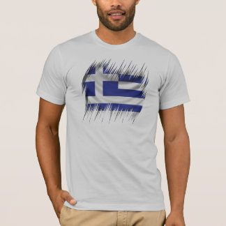 Shredders Greek Flag T-Shirt