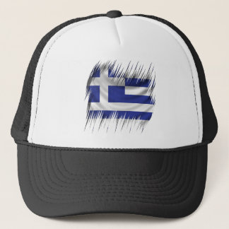 Shredders Greek Flag Trucker Hat