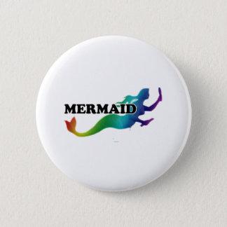 Shredders Mermaid 6 Cm Round Badge