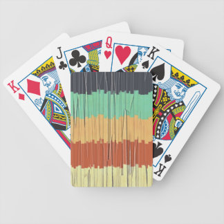 Shreds of Color Bicycle Playing Cards