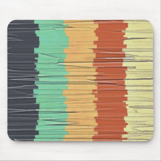 Shreds of Color Mouse Pad