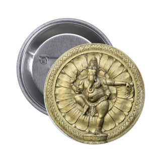 Shree Ganesh 6 Cm Round Badge
