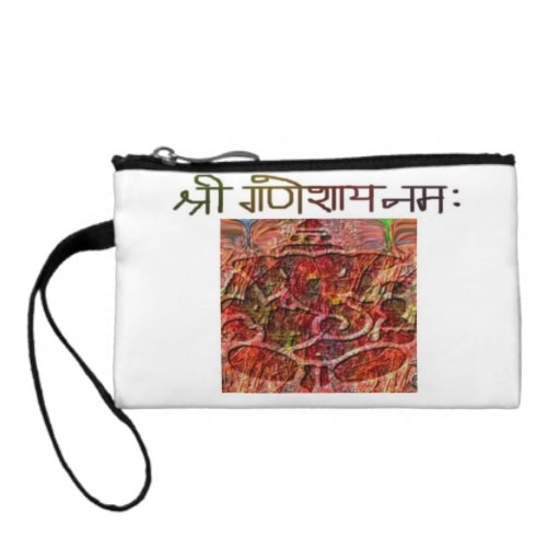 Shree Ganeshay Nama Coin Bagettes Bag Change Purse