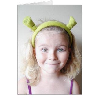 Shrek Card