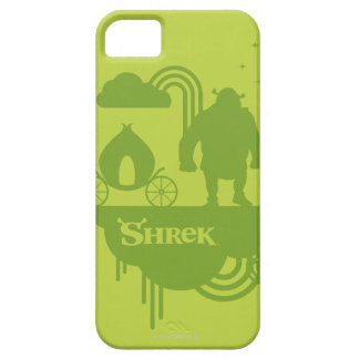 Shrek Fairy Tale Silhouette Barely There iPhone 5 Case