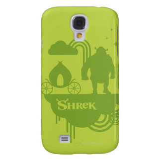 Shrek Fairy Tale Silhouette Galaxy S4 Case