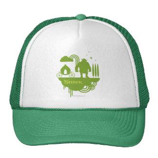 Shrek Fairy Tale Silhouette Mesh Hats