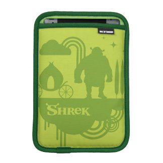 Shrek Fairy Tale Silhouette iPad Mini Sleeve